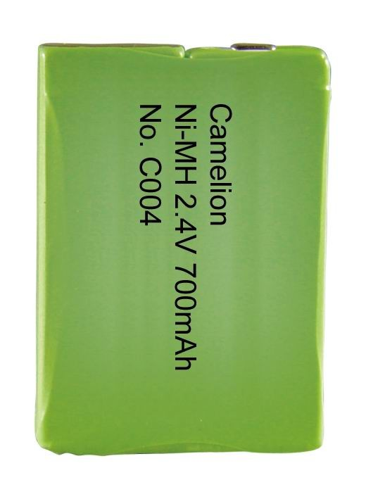 C004 2NH-F6-700B / NI-MH / 2,4 Volt / 700mAH - BP1