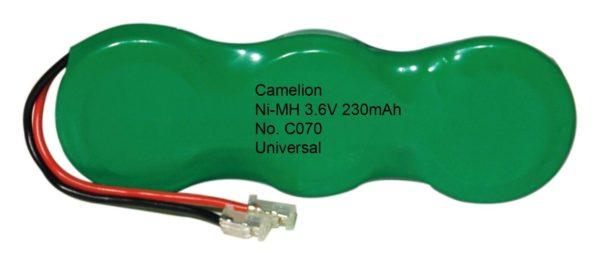 C070 3NH-BH230 BMU / 3,6V / NI-MH / 230mAH - BP1