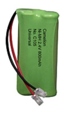 C105 2NHAAA800BMU / 2,4 Volt / 800mAh - BP1