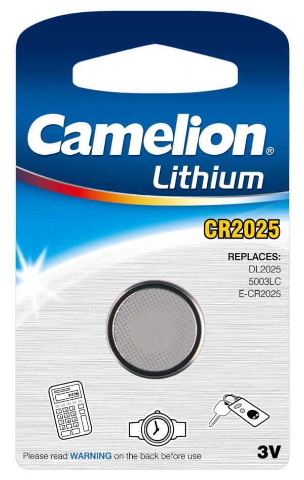Blister 1 pile CR2025 3V Lithium