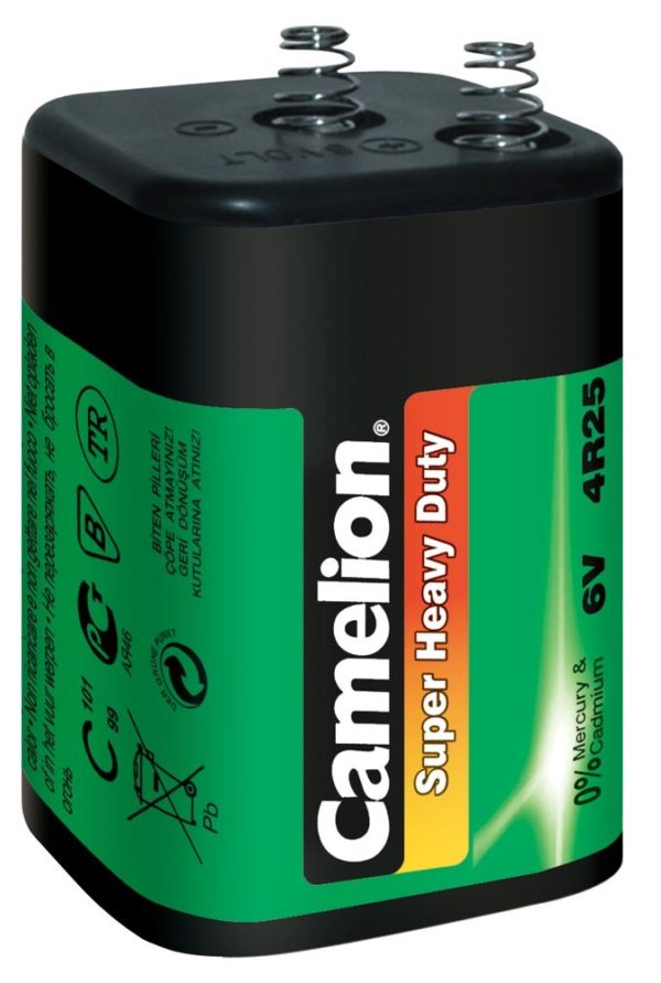 Batterie 4R25 6 Volt 7 A Super Heavy Duty verte