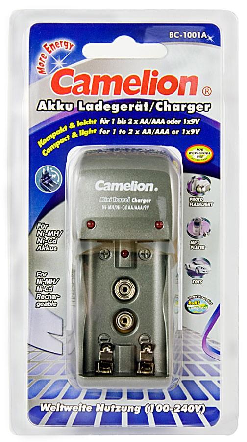 Chargeur Prise Compacte BC-1001A