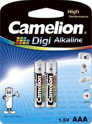 Blister de 2 piles Digi-Alcalines AAA LR03
