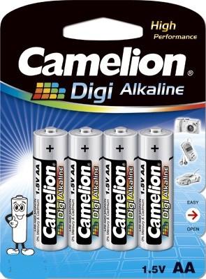 Blister de 4 piles Digi-Alcalines AA LR06