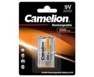 1 accu 9V Block 200 mah Camelion