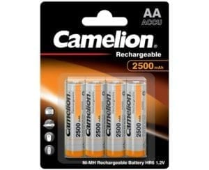Batterie 2500 mah rechargeable Camelion BP4