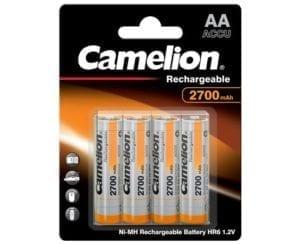 Camelion accus rechargeables 2700 mah BP4 nimh