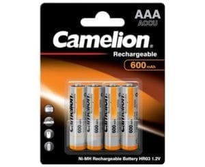 accus camelion 600mah aaa hr03
