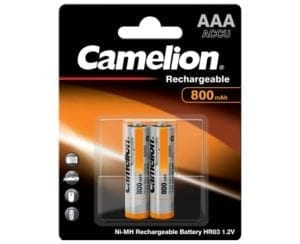 Batteries rechargeables Camelion HR03 800 mAh