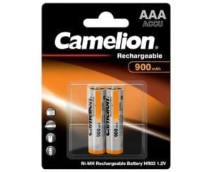 Accumulateur Camelion 900 mAh BP2 AAA HR03
