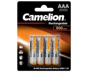 Piles rechargeables Camelion 900 mAh Micro AAA HR03