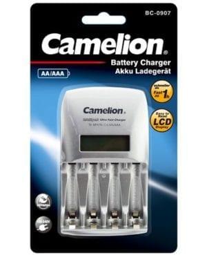Camelion chargeur d'accumulateur BC907