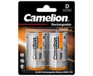 Camelion accus D R20 7000 mAh