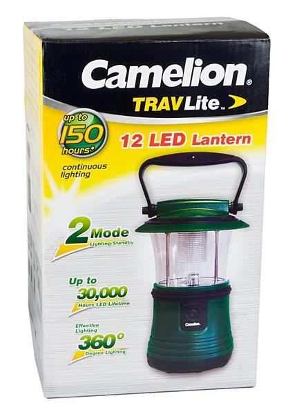 Lanterne TRAVLite 12 LED SL1121-GREEN