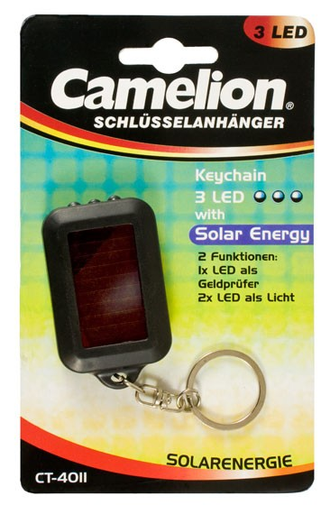 Lampe porte cle solaire 3 LED CT4011