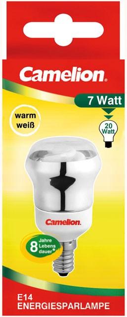 Ampoule fluocompacte Reflector R50 7W E14 2700K couleur blanc chaud