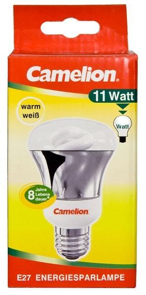 Ampoule fluocompacte Reflector R63 11W E27 2700K couleur blanc chaud