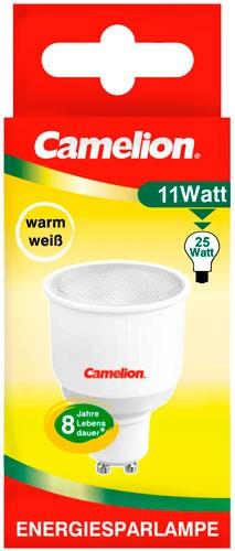 Ampoule fluocompacte Reflector GU 10 11W MR50 2700K couleur blanc chaud