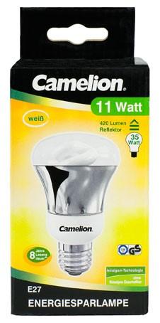 Ampoule fluocompacte Reflektor R63 / 11W / E27 / 4000K couleur blanc neutre