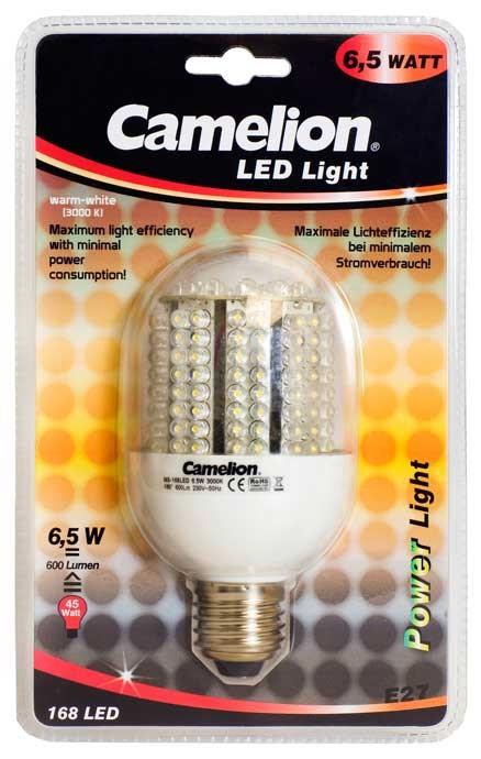 Ampoule Globe Led CLF020 E27 168 LED 6,5 Watt 610-620 Lumen 3000K couleur blanc jour