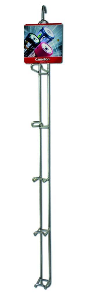 Presentoir métal a accorcher 5 crochets Camelion HW-01