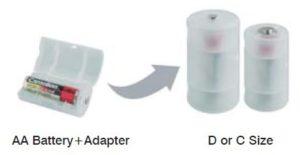 Adaptateur de piles / Accus