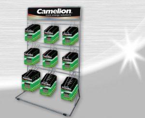 Camelion présentoir display WCD03 9crochets