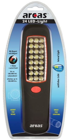 Arcas Lampe de travail ARC-24 LED-light 24 LED /