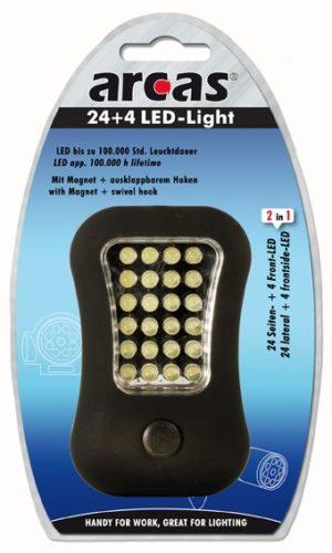 Arcas Lampe de travail ARC-24 + 4 LED devant