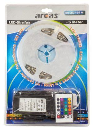 Arcas Strip LED Multicolore 5m avec telecommande