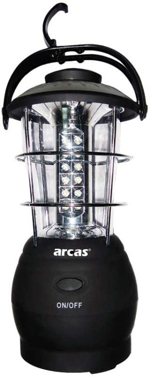 ARC-LANTERN 36 x LED avec 3 x differentes fonctions + boussole
