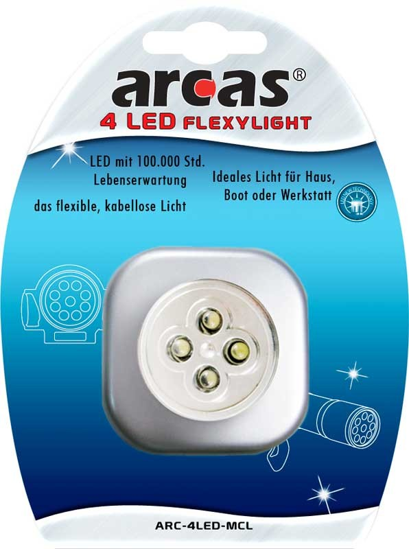 Lampe flexible ARCAS-4 LED Flexylight