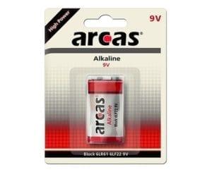 Arcas 9V block Arcas