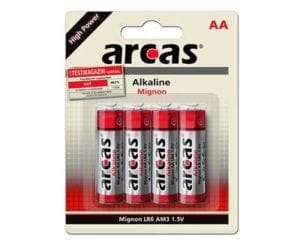 Arcas AA pile alacaline LR06
