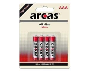 Arcas AAA pile alcaline LR03