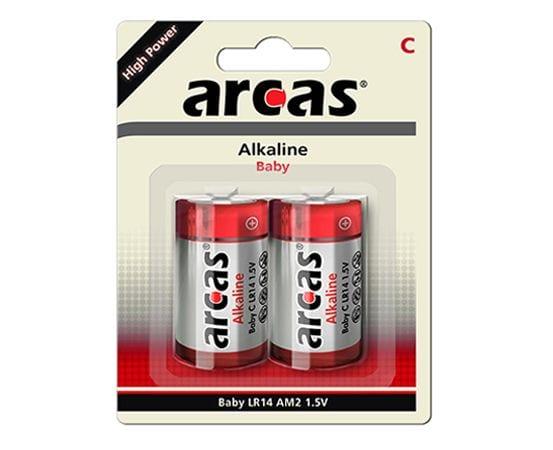 Arcas LR14 pile alcaline C