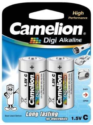 Blister de 2 piles Digi-Alcalines C / R14