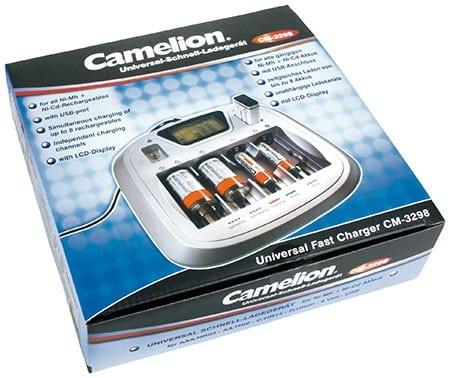 Chargeur Rapide Universel CM3298 Camelion