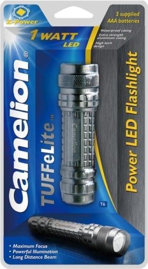 Torche TuFFeLite T6 Camelion