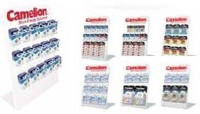 Presentoir comptoir Acrylique blanc Camelion ADS-01