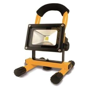 Lampe projecteur rechargeable 1 LED Chip 10 Watt
