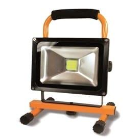 Lampe projecteur rechargeable 1 LED Chip 20 Watt