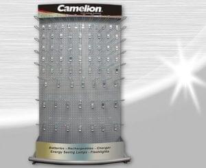 Camelion présentoir de pile, accus, chargeur MFD-06