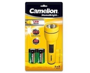 Camelion Lampe 1x LED HomeBright + 2 piles D / FL1L2D