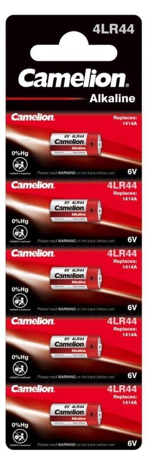 4LR44 1414A CAMELION PILES ALCALINES