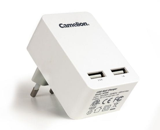 Adaptateur Camelion AD569 sortie 2 ports USB