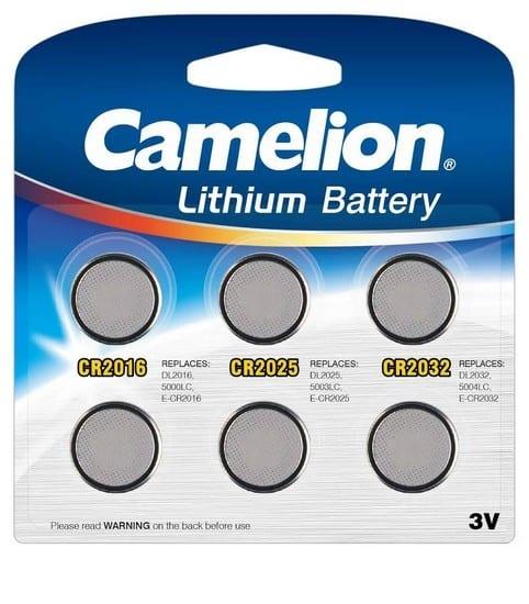 Camelion Mix de 6 piles boutons CR Lithium