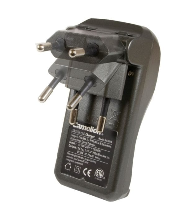 Chargeur + 2 accus Camelion Always Ready 800mAh R3 AAA BC-1001A
