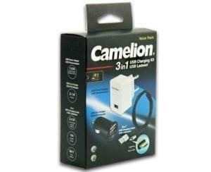 Kit (3en 1) de recharge Camelion AD568, AD811 & CDC015