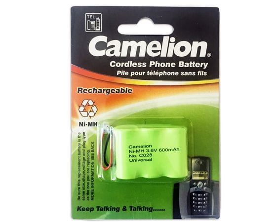 pile batterie telehone Camelion c028